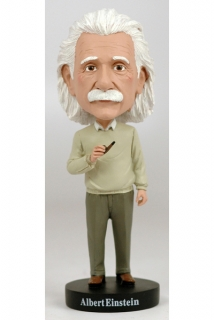 Royal Bobbles - bobble head Albert Einstein 20 cm