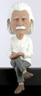Royal Bobbles - bobble head Albert Einstein 8 cm