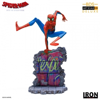 Spider-Man: Into the Spider-Verse - socha BDS Art Scale Peter B. Parker 21 cm