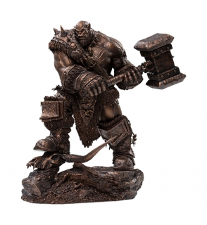 Warcraft: The Beginning - socha Orgrim (Bronze Version) 27 cm