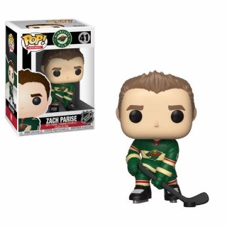 NHL POP! - figúrka Zach Parise (Wild) 9 cm