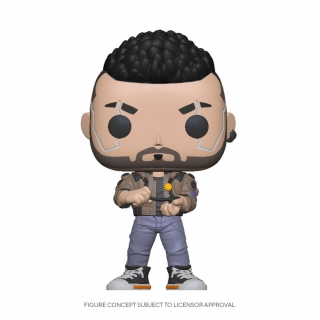 Cyberpunk 2077 POP! - figúrka V-Male 9 cm
