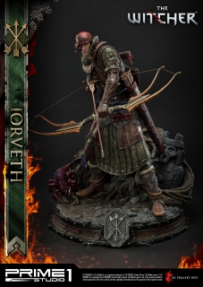 The Witcher 2: Assassins of Kings - socha Iorveth 50 cm
