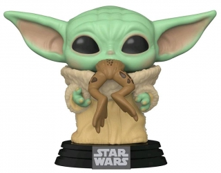 Star Wars The Mandalorian POP! - figúrka The Child with Frog 9 cm