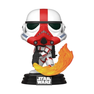 Star Wars The Mandalorian POP! - figúrka Incinerator Stormtrooper 9 cm
