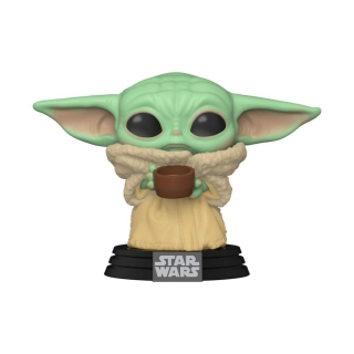 Star Wars The Mandalorian POP! - figúrka The Child with Cup 9 cm