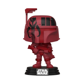 Star Wars The Mandalorian POP! - figúrka Boba Fett (BURG) Convention Exclusive 9