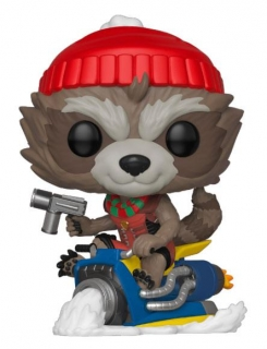 Marvel Holiday POP! - figúrka Rocket 9 cm
