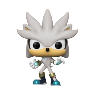 Sonic The Hedgehog POP! - figúrka Sonic 30th - Silver the Hedgehog 9 cm
