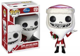 Nightmare Before Christmas POP! - figúrka Santa Jack Skellington 10 cm