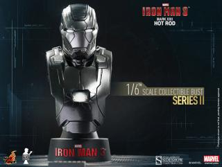 Iron Man 3 - busta Series 2 Iron Man Mark XXII Hot Rod 11 cm