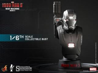 Iron Man 3 - busta War Machine Mark II 11 cm
