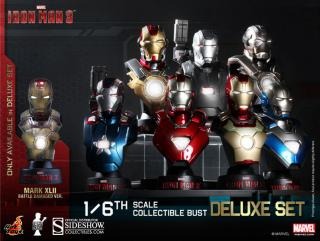 Iron Man 3 - busty Deluxe Set (8) 11 cm