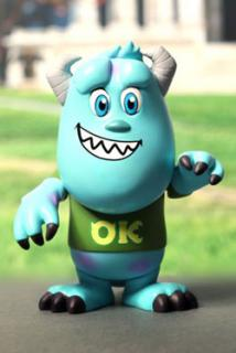 Monsters University - figúrka Sulley University 8 cm