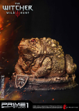 Witcher 3 Hearts of Stone - socha Toad Prince of Oxenfurt Gold 34 cm
